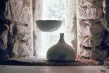 Coupelle sphérique et vase figue, c. 1980.
