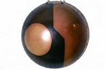 Grande coupe hémisphérique, 1975, D 51 cm