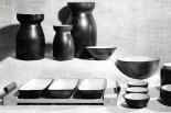 Vases, raviers, service à crème, c. 1960.