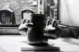 """Service à thé ou à tisane """"suspendu"""", fin années 50."""