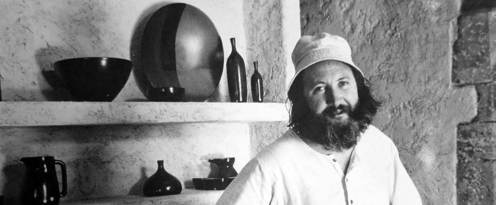 Jean Payen à Gordes vers 1976.
